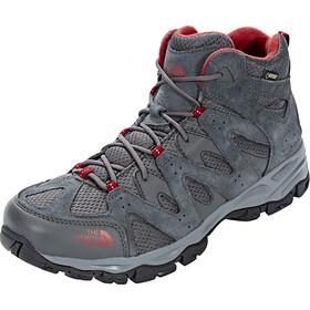 The North Face Storm Hike Mid GTX Schuhe Herren dark shadow grey/rudy red